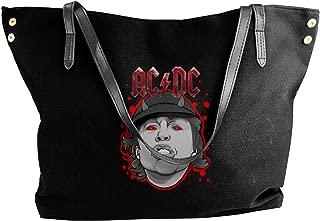 Fashion AC&DC Shoulder Bag Canvas Handbags Tote Bag