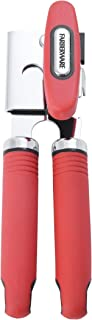 Farberware Soft Grips Can Bottle Opener, One Size, Red/Black