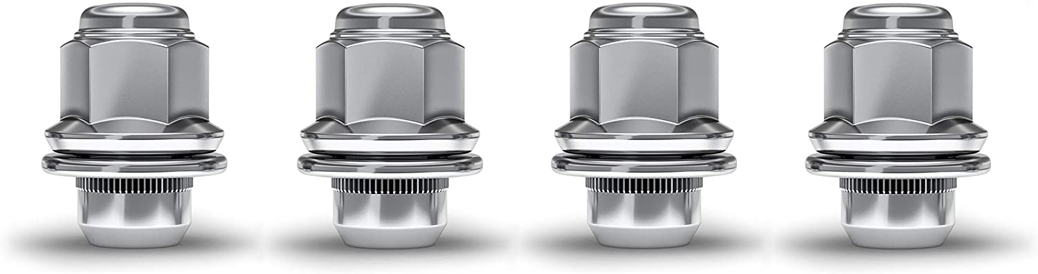 White Knight 5306 Large-scale sale Chrome safety M12x1.25 OEM Factory Lug Style Mag Nut