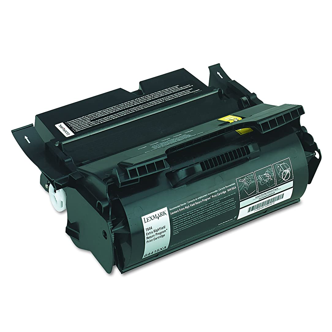 Lexmark 64415XA Extra High Yield Return Program Toner Cartridge