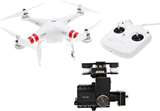DJI Phantom 2 Quadcopter V2.0 Bundle, 3-Axis Zenmuse H4-3D Gimbal for GoPro Hero 4 Black (White)