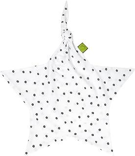 Julius Zöllner Julius Zöllner Jersey Schnuffeltuch Schmusetuch ca. 35x35 Dots grau Für Preis bitte klicken