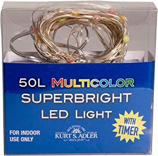 Kurt S. Adler BAT0301M String Lights, Multicolor