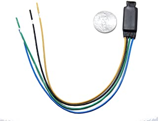 RED WOLF Parking Brake Bypass Override Video Lockout In Motion Wire Switcher For Aftermarket Alpine Head Unit