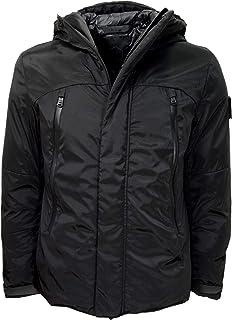 HOX Chaqueta para hombre XU3717 Technical Down, color negro