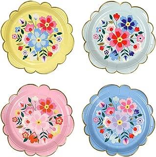 Meri Meri Bright Floral Small Plates