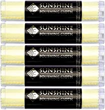5 Sunshine Polishing Cloths Jewelry Cleaner Tube Silver Brass Gold Copper