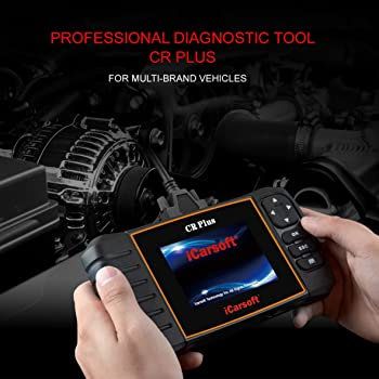 iCarsoft CR Plus NEW VERSION professional universal OBD2 diagnostic scanner for multi brand vehicles