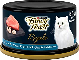 Fancy Feast Purina Royale Tuna Shrimp Cat Food 85g - (Pack of 24)
