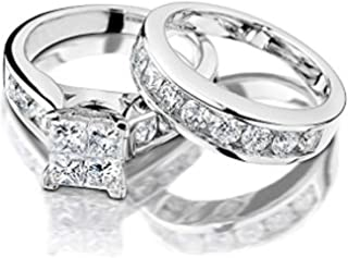 Best chocolate diamond bridal ring sets Reviews