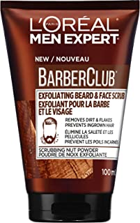 L'Oreal Paris Men Expert Beard and Face Wash Scrub | Barberclub, 100 Ml, 100 Milliliters