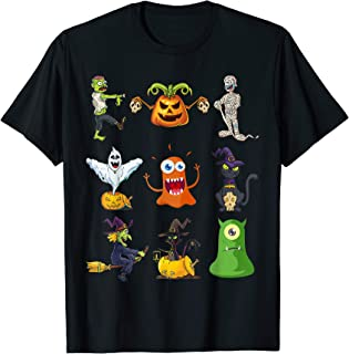 Halloween Monster Squad Friends Costume Shirt Kids, Boys T-Shirt
