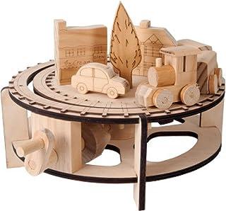 Natural Wood TIMBERKITS TIMB0003 Craft Materials