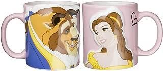ディズニー 「 美女と野獣 」 ベル&ビースト キス ペア マグカップ 300ml SAN2519