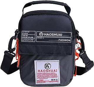 JAKAGO Waterproof Shoulder Bag Small Messenger Cross Body Bag for Outdoor