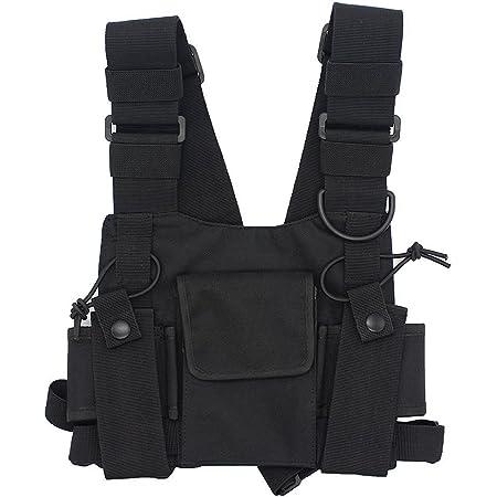 Details about  /Tactical Chest Rig Bag Chest Front Pouch Holster Vest Vogue Tools Pouch Carrier