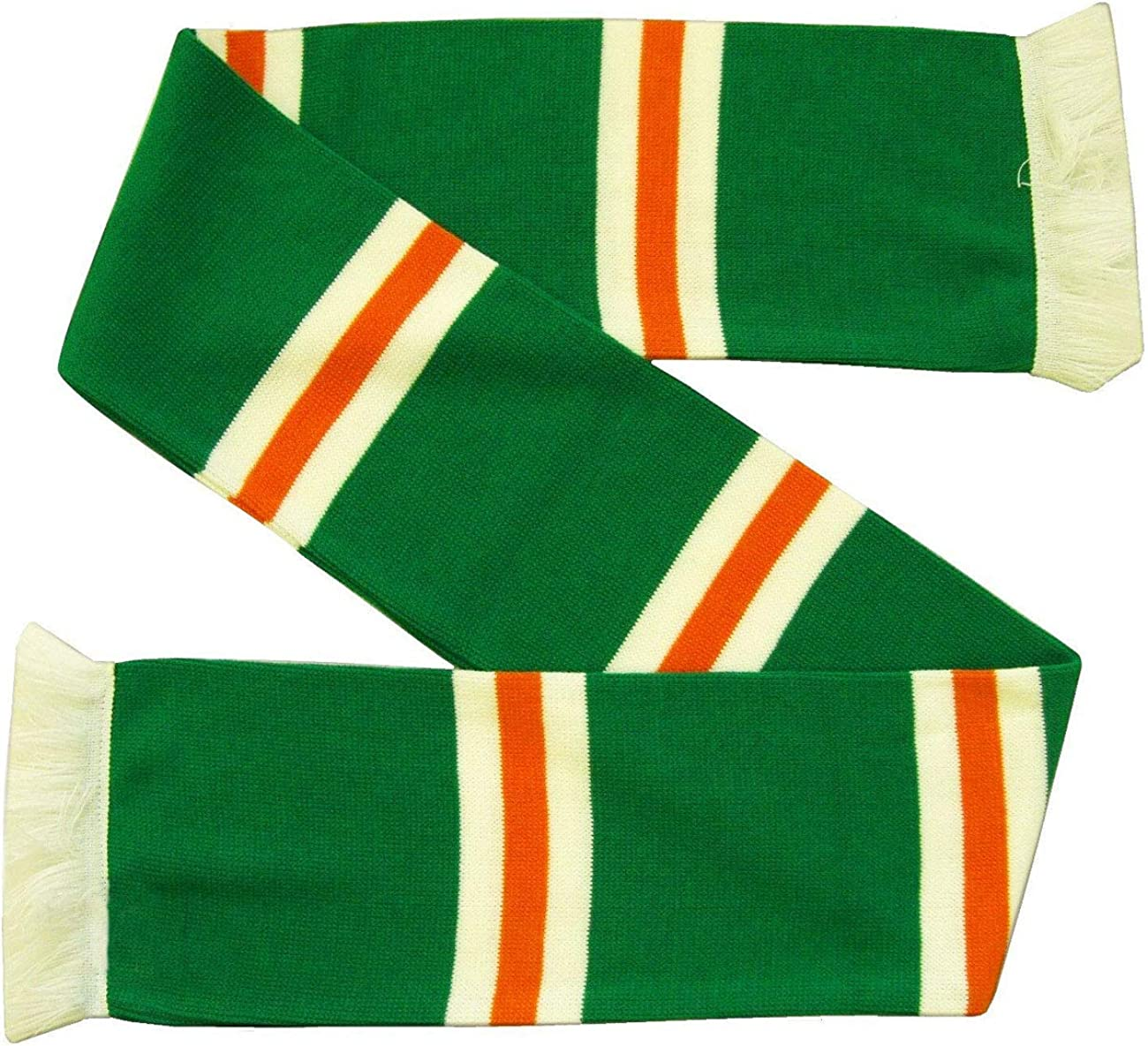 Glasgow Celtic and Ireland Supporters Football/Soccer Scarf