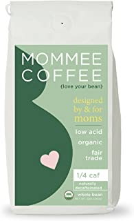 Mommee Coffee - Quarter Caff, Low Acid Coffee | Whole...