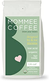 Mommee Coffee - Quarter Caff, Low Acid Coffee   Whole...