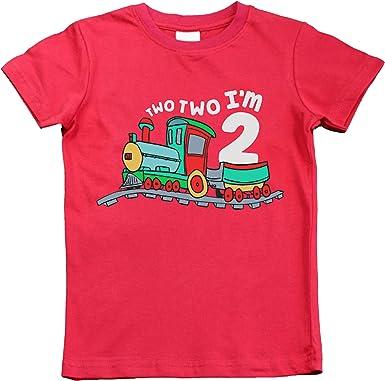 Unordinary Toddler 2nd Birthday Shirt boy Chugga Chugga Two Two Train im Two Year Old Second Birthday