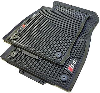 Audi Original S5 Allwetter felpudos Delantero 8 W706 1221 a 041 Alfombrillas de Goma Alfombrillas de