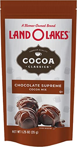 lowest Land O Lakes Cocoa Classics, sale Chocolate Supreme Hot high quality Cocoa Mix, 1.25-Ounce Packets (Pack of 36) sale