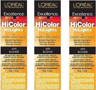 Best hicolor blonde hilights ash blonde permanent creme hair color Reviews