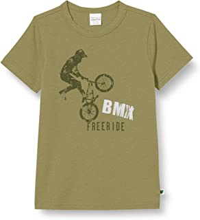 Fred'S World By Green Cotton BMX Free Ride S/S T T-Shirt Garçon