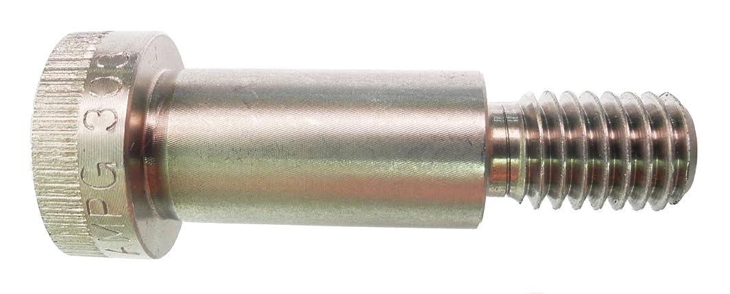 18-8 Stainless Steel Shoulder Screw, Plain Finish, Socket Head Cap, Hex Socket Drive, Standard Tolerance, Meets ASME B18.3, 1/8
