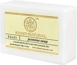 Khadi Natural Ayurvedic Herbal Handmade Pure Jasmine Bathing Soap 125gm