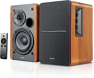 Edifier【Upgraded】 R1280Ts Powered Bookshelf Speakers - 2.0 Stereo Active Near Field Monitors - Studio Monitor Speaker - 42...