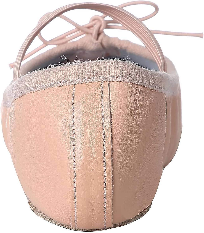 Toddler//Little//Big Kid//Women Linodes Leather Ballet Shoes//Ballet Slippers//Dance Shoes