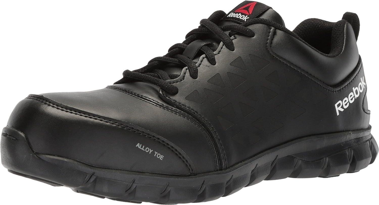 Reebok mens Sublite Cushion Work Safety Toe Athletic Work Shoe