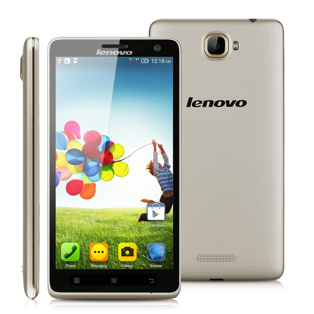 Lenovo S856 - Smartphone libre 4G Lte (pantalla 5.5