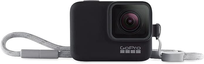 GoPro Sleeve + Lanyard in Blackout (HERO7 Black/HERO7 Silver/HERO7 White/HERO6 Black/HERO5 Black) - Official GoPro Accessory