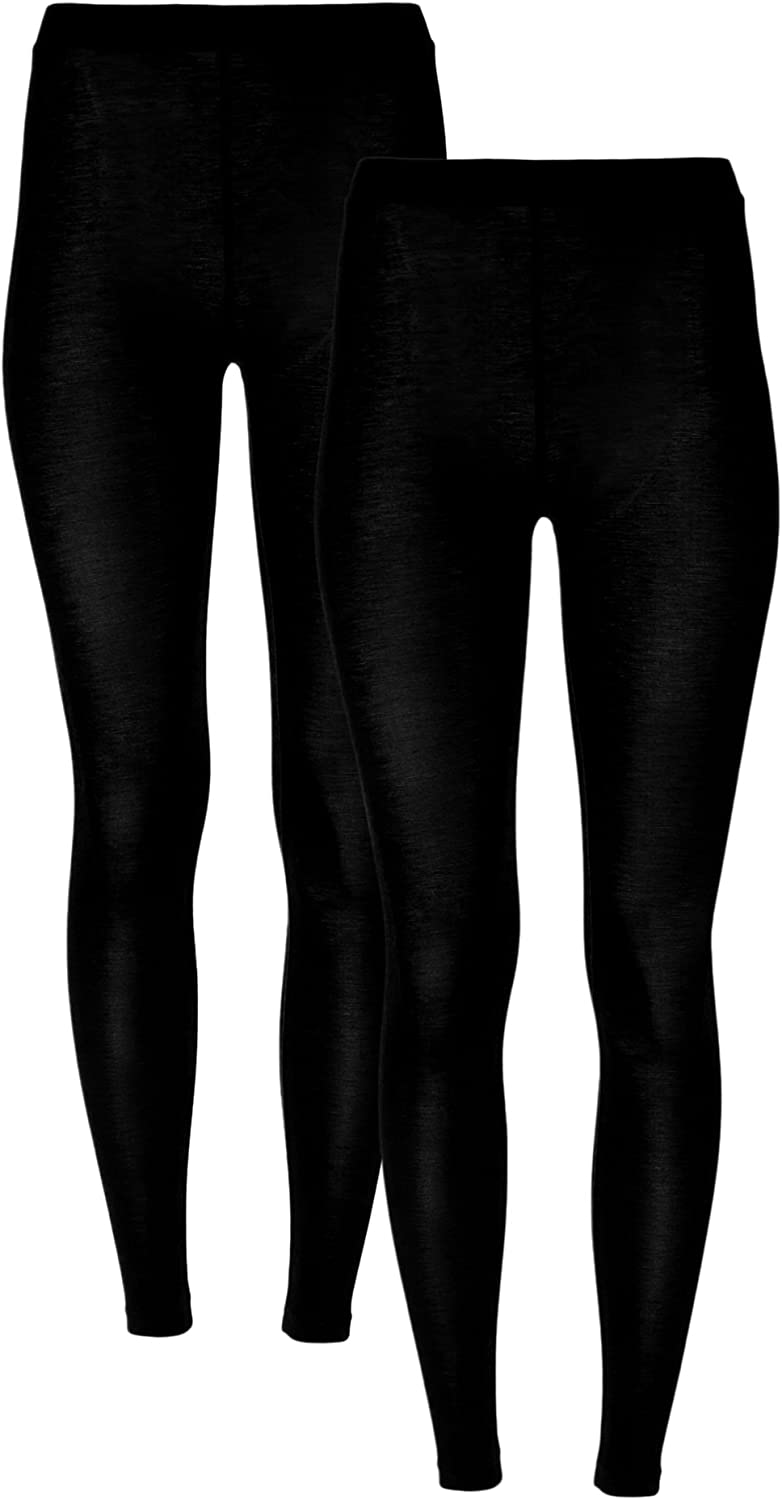32 Degrees Women 2 Pack Heat Plus Baselayer Leggings