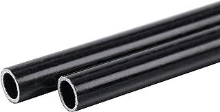 Alston 3K Wrapped 100% Carbon Fiber Tube 6x8x500mm Light Surfaces Pack of Two pcs