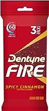 Dentyne Fire Sugar Free Gum (Spicy Cinnamon, 16 Piece, Pack of 3)