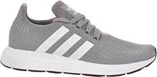 adidas Originals Swift Run Mens Lace Up Fashion Running Trainers Shoes - Grey