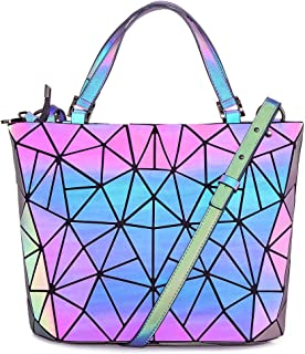 geometric luminous purse