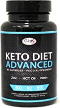 Keto Diet Pills – 1 Month Supply UK Manufactured – High MCT Oil Biotin Green Tea Content – Ketogenic Weight Loss Supplement Slimming Pills Estimated Price : £ 16,97