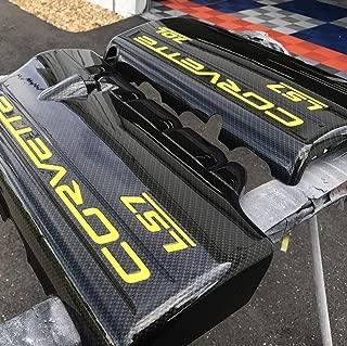 Performance Corvettes C6 Z06 ZO6 LS7 7.0L Carbon Fiber HydroGraphics Fuel Rail Engine Covers