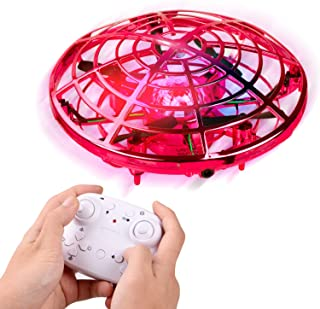 Mini Drone for Kids and Adults, LANIAKEA Easy Flying Toys Hand Operated Mini Drone with 360°Rotating, Hand Controlled Toy ...