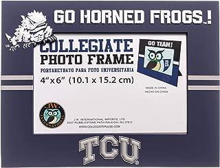 Collegiate Pulse Texas Christian Horned Frogs NCAA PVC Photo Frame