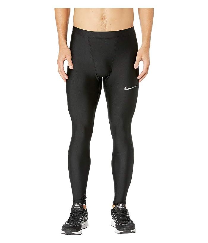 Nike Run Mobility Tights (Black/Reflective Silver) Men