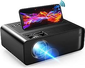 مینی پروژکتور ، پروژکتور فیلم Xinteprid WiFi 7000L با همگام سازی صفحه نمایش گوشی هوشمند ، ویدئو پروژکتور قابل حمل برای iPhone 1080P HD صفحه نمایش 200 اینچی پشتیبانی شده ، سازگار با Android/iOS/HDMI/USB/SD/VGA