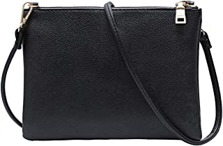 Crossbody Bag for Women, Small Shoulder Purses and Handbags LightweightPU Leather Wallet with Detachable Strap