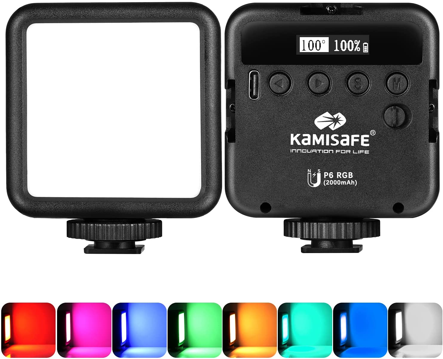 RGB Video Lights Limited time Long Beach Mall cheap sale LED Camera Mini Light Soft Rechargeable