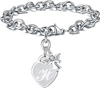 Best angel bracelet charm Reviews