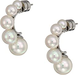 5,8 and 10mm Graduating Pearls Earrings